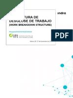 Estructura Desglose Trabajo v01