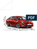 Medidas de Un Auto