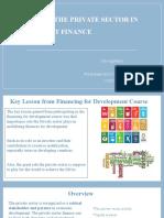 Theroleofprivatesectorindevelopmentfinance