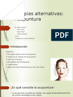 Ppt Terapias Alternativas- Acupuntura Editado