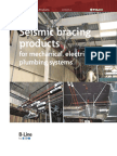 Seismic Products for MEP System