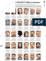 Most Wanted Property Crime Offenders June 2010