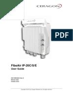 FibeAir IP-20C S E C8 2 User Manual Rev E