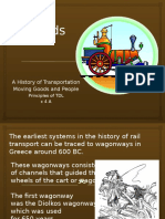 History of Rail Transportation PPT