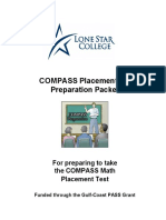 COMPASS Placement Preparation Packet for Math