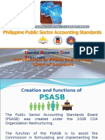 PPSAS and the Revised Chart of Accounts