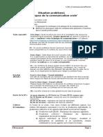 SP1 Communication Ecrite Et Orale