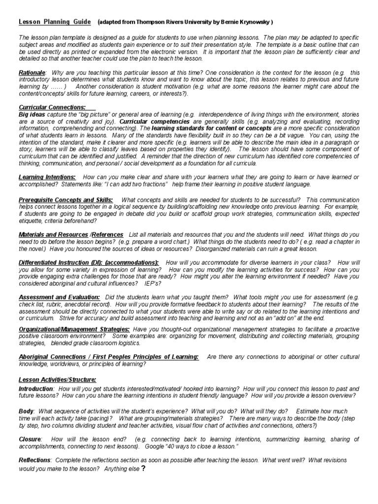 Multiplicationlessonplan Curriculum Differentiated Instruction