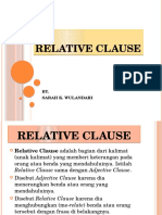 2. Relative Clause