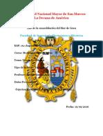 Informe 2 Teoría Estadística - Mediciones Electrónicas - Mestas Ramos - FIEE UNMSM