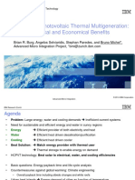 5.5 Concentrated Phtovoltaic Thermal Multigeneration B Michel