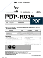 Pioneer Pdp-r03e Plasma Receiver