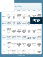 AM Meal Planner Wk1