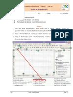 Ficha 1 Excel Tic