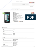 BlackBerry Z10 - Specifications