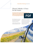 Capgemini Smart Grid - Electric Vehicle (EV) Fact Sheet