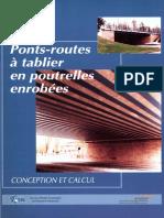 Ponts-routes أ tablier en pouterelles enrobأ©es. Coception et Calcul +SNCF (mai 1995)