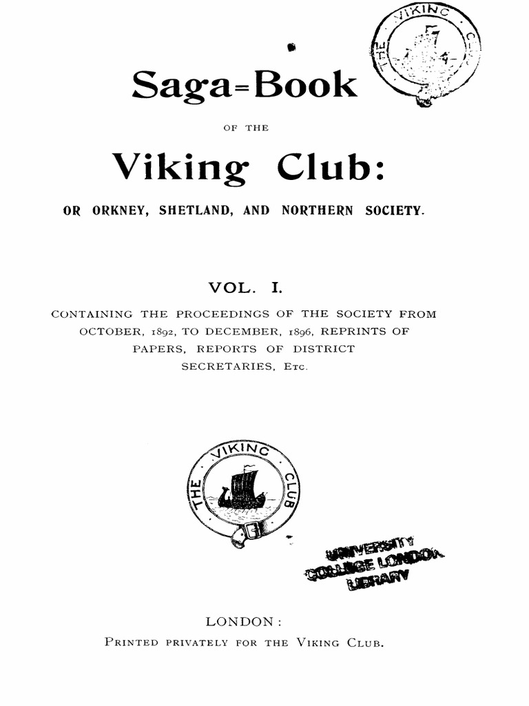 Saga Book I Vikings