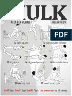 HULK Body Weight Exercises