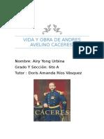Andrés Avelino Cáceres Dorregaray
