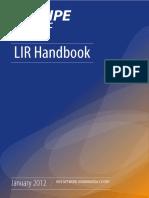LIR Handbook
