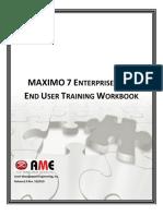 Maximo User Manual EndUsers BuildingCoordinators