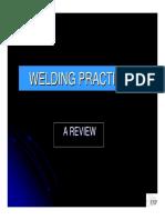 Welding Practices