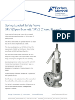 Safety Valve Srv1-2 Brochure