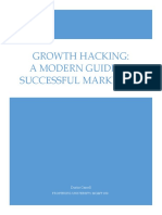 Growth Hacking - A Modern Guide to Successful Marketing