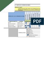 Modelo 23 - Matriz de Comunicaciones Agua Gris