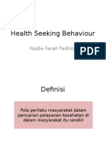 LO Dhila_Health Seeking Behaviour