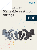GF - Technical Catalogue 2015 - Malleable Cast Iron Fittings