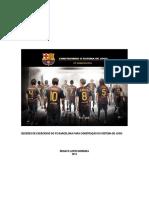 Fc Barcelona - Construção Do Sistema de Jogo