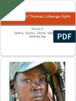 Prosecutor v Thomas Lubanga Dyilo