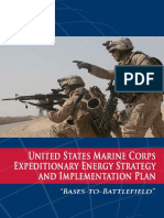 USMC Expeditionary Energy Strategy Implementation Planning Guidance