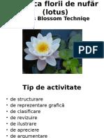Tehnica Florii de Lotus