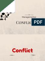 Managementul conflictului (2)