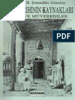 M. Şemseddin Günaltay - İslam Tarihinin Kaynakları - Tarih Ve Müverrihler.pdf