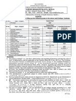 Advertisement For The Post of Professor /(Assistant Professor) Lecturer