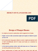 Limit State Design Flanged Beams