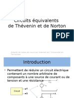 4-Circuits Equivalents de Thevenin Et Norton