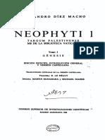 Neofiti 1 - Génesis - Arameo