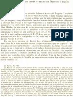 Neofiti 1 - Exodo - II Valoración de Copia y Texto de Neofiti 1 Degún D. Rieder