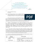 Roles Responsibilities 29-34-2012-LI-Vol-II Dated 24-09-15