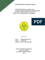 Proposal Penelitian Tindakan Kelas Fahmi