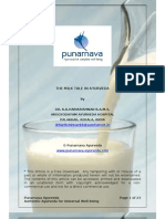 Ayurveda Education in India and Importance of MIlk