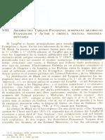 Neofiti 1 - Numeros - Viii Arameo Del Targum Palestino, Substrato Arameo de Evangelios y Actos y Crítica Textual Neotestamentaria