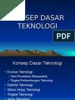 Konsep Dasar Teknologi