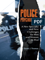 (Forensic Psychology) David J. Thomas-Police Psychology_ a New Specialty and New Challenges for Men and Women in Blue (Forensic Psychology)-Praeger (2011)