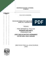 Tesis Proyeccion de Hidroxiapatita Sobre Acero Inox